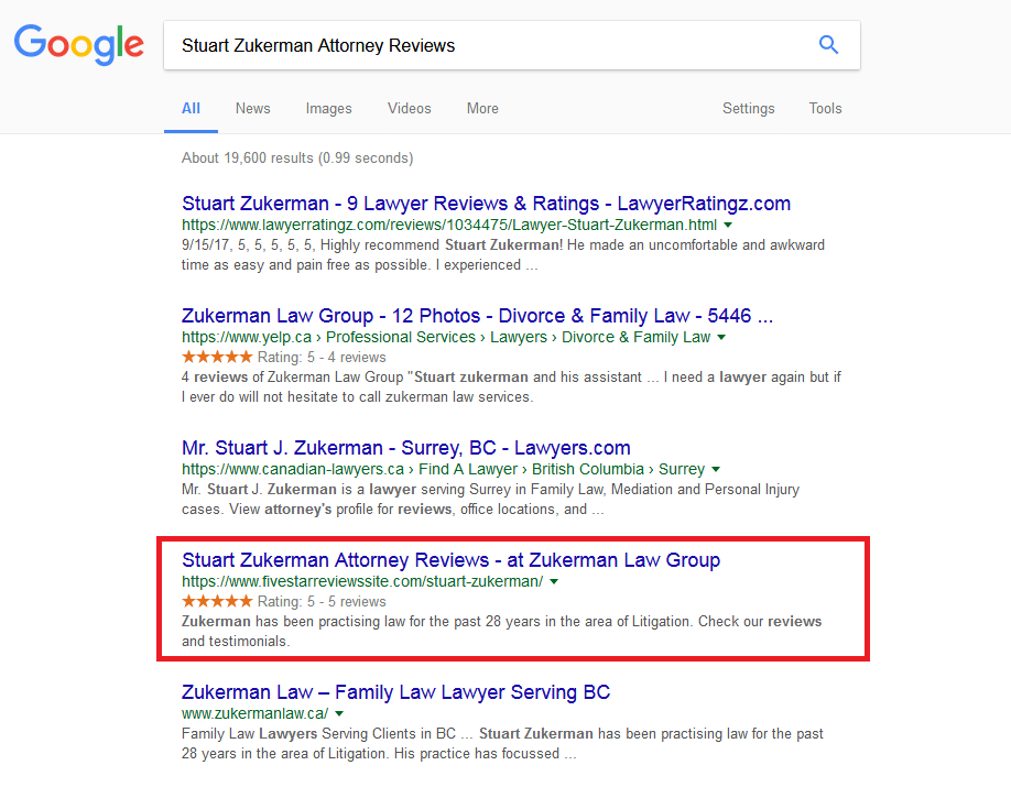 Stuart Zukerman Attorney Reviews
